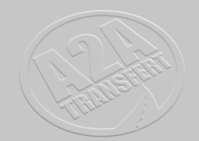 Logo de la société taxi A2A Transfert