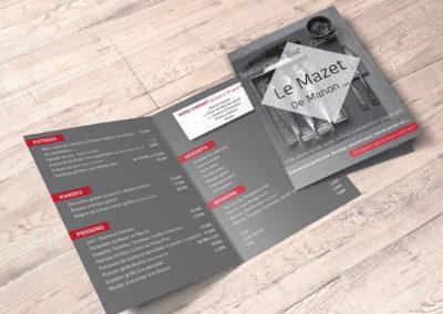 Carte Le Mazet de Manon