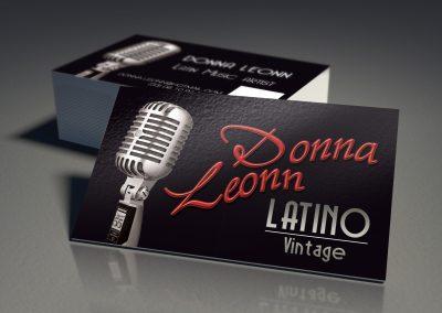 Carte de visite Donna Leonn